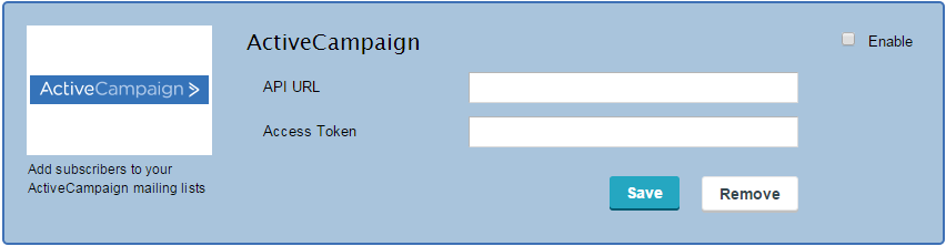 ActiveCampaign Integration with CaptainForm – WordPress Form