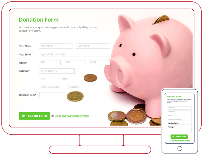 wordpress donation form plugin