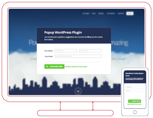WordPress Popup Plugin | CaptainForm