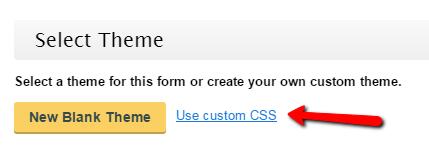 Custom CSS - WordPress Form Builder Plugin