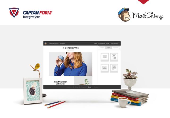 MailChimp WordPress Integration - CaptainForm WordPress Form Builder Plugin
