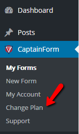 Upgrade Account - WordPress Form Creator Plugin