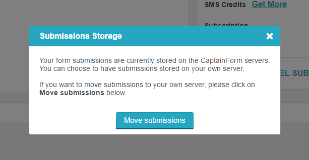 Where are form submissions stored? | CaptainForm