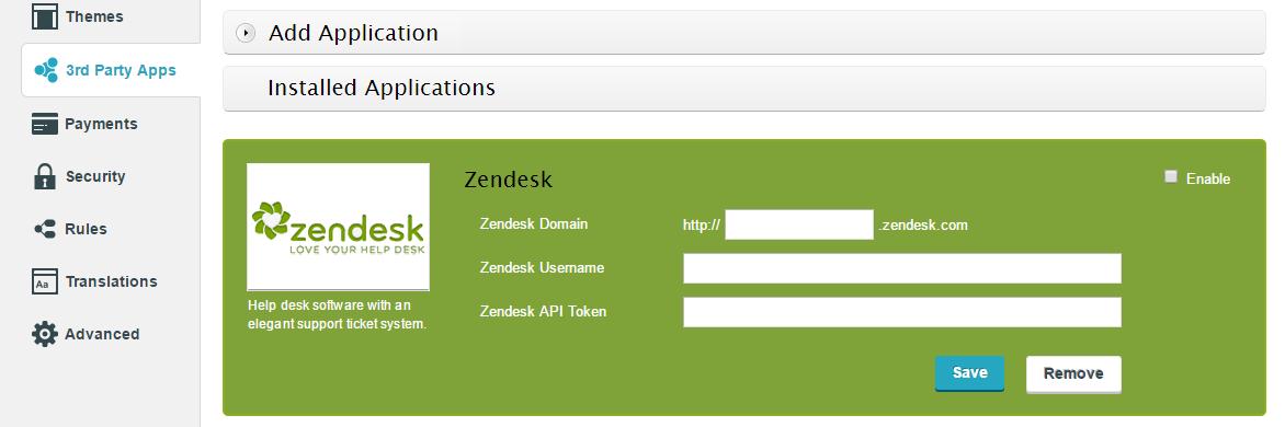 Zendesk integration with CaptainForm WordPress Plugin | CaptainForm