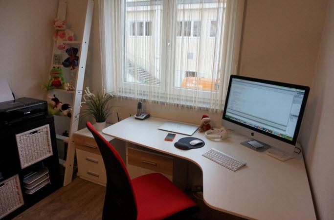 Ana's desk